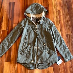 Collection B Rosemary (Green) Coat